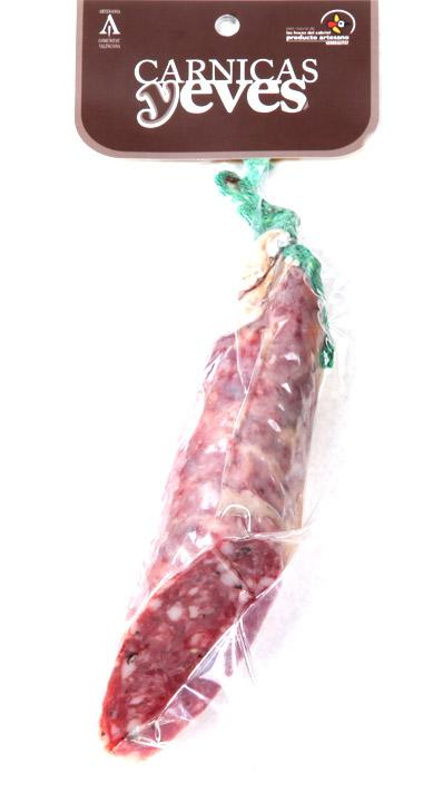 Salchichón con Boletus -Cárnicas Yeves-