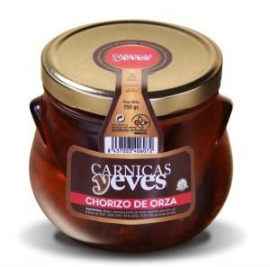 Chorizo en Orza -Cárnicas Yeves-