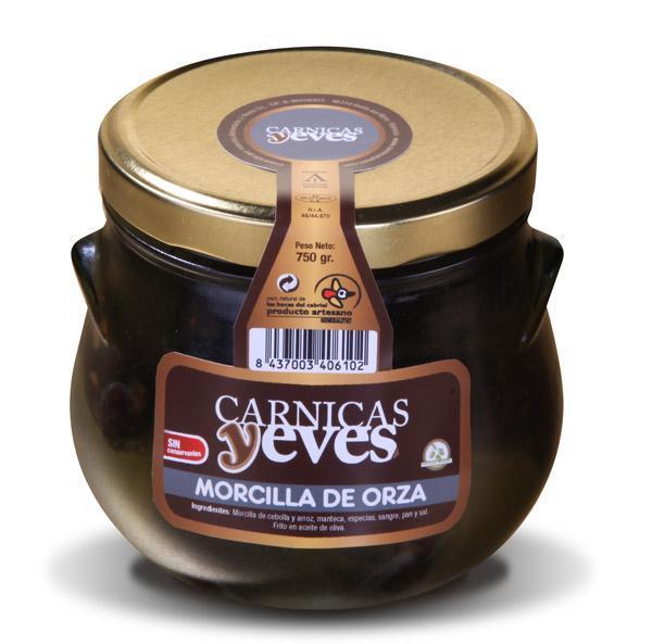 Morcilla en Orza -Cárnicas Yeves-