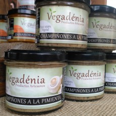 Paté de Champiñones a la pimienta Vegadenia