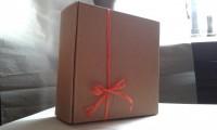 Caja kraft cuadrada