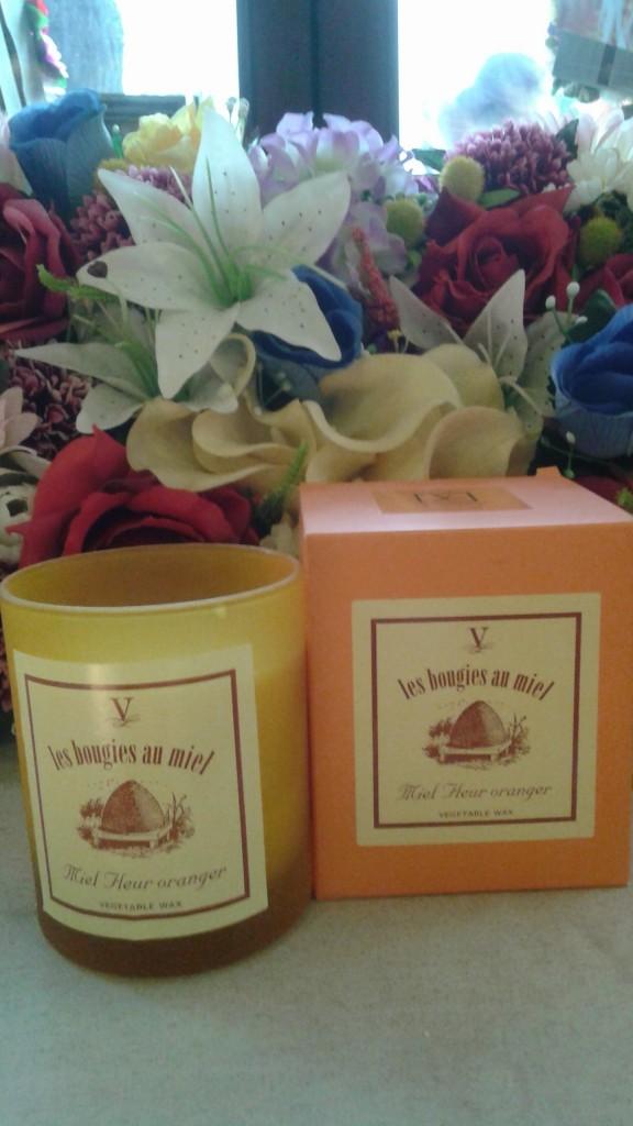Vela miel flor de naranjo original cv - Velas de miel ...