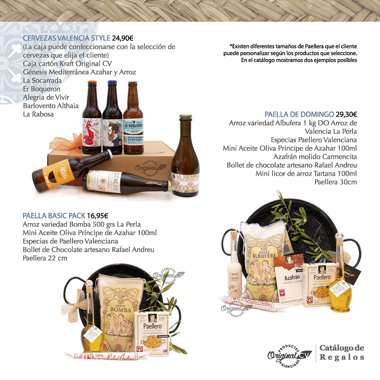 cat u00e1logos de regalos con productos valencianos